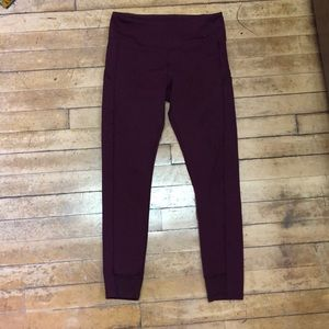 Ivivva 7/8 leggings with pockets Size 14